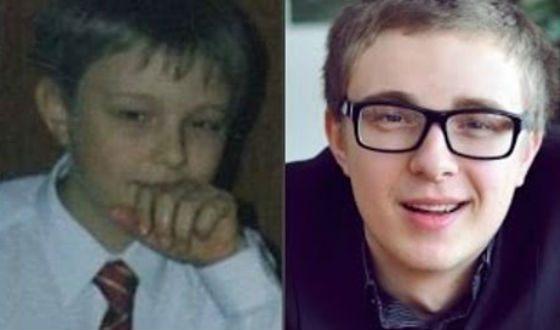 Егор Крид в детстве и в школьные годы
