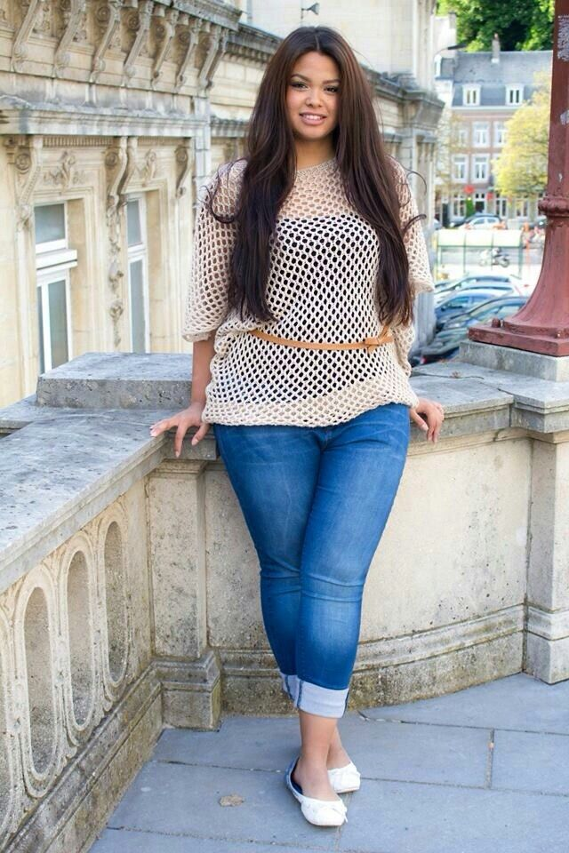 Pictures of chubby girls in jeans #15