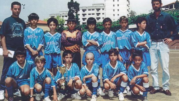 Детская футбольная команда Роналду