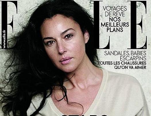 Моника Беллучи на обложке журнала