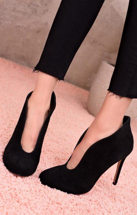 туфли с вырезом