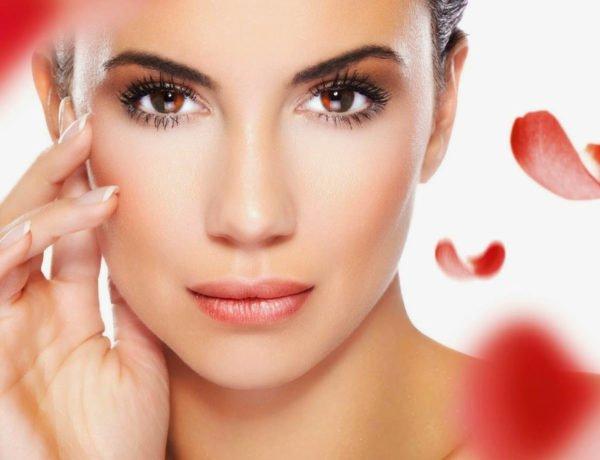 Красивая кожа лица