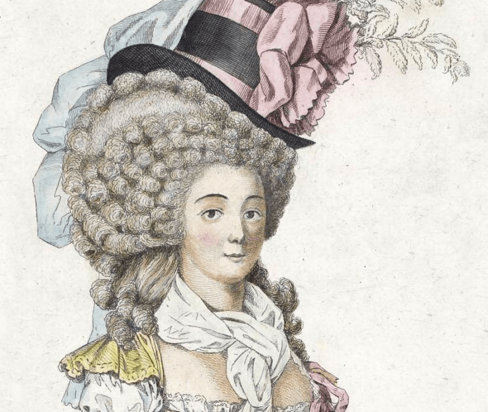 Аристократка XVIII века