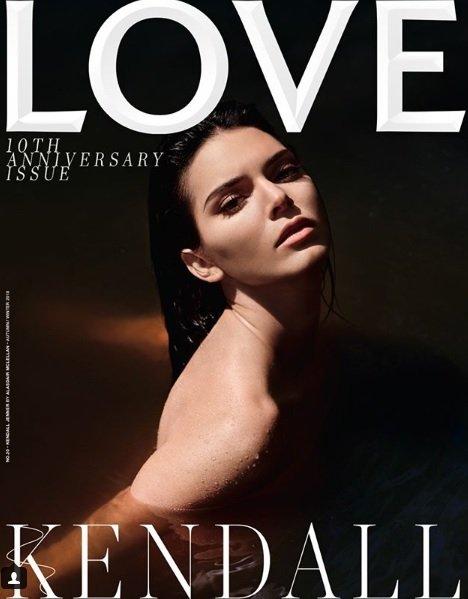 Кендалл Дженнер на обложке LOVE Magazine