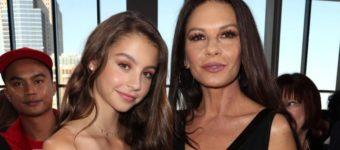 Кэтрин Зета-Джонс с дочерью