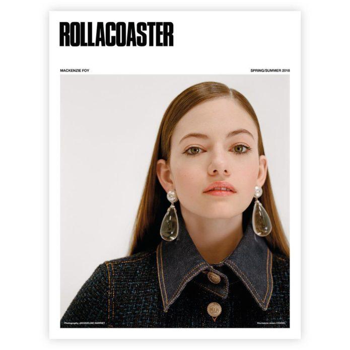 Маккензи Фой для Rollacoaster Magazine