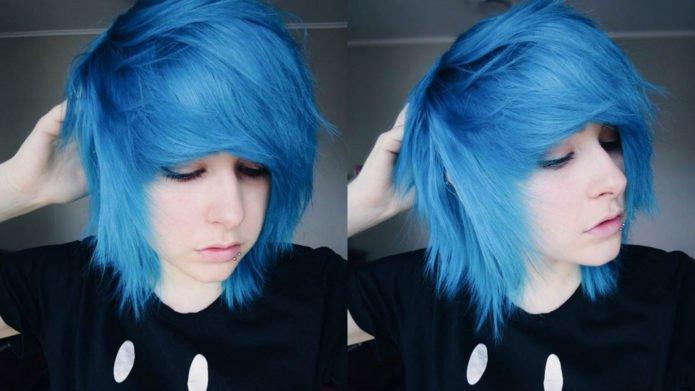 Полное окрашивание волос