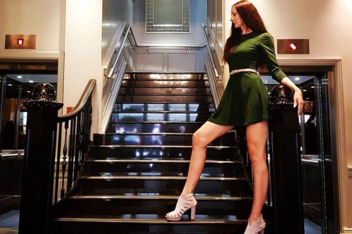 Самая высокая женщина в России