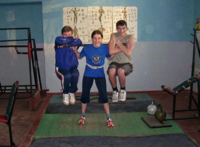Варя Акулова самая сильная девочка