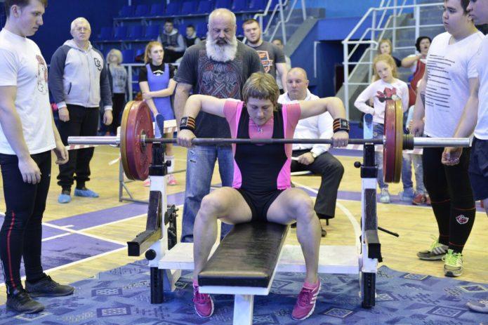 Спортсменка Екатерина Зайцева