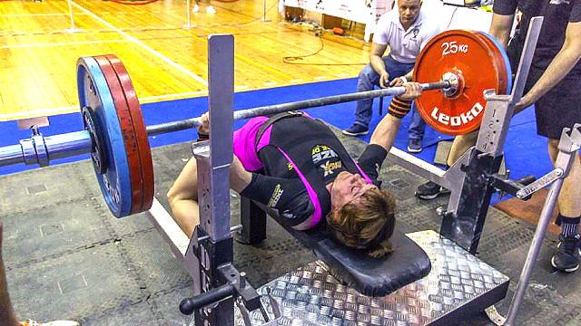 Е.Зайцева стала самой сильной женщиной России
