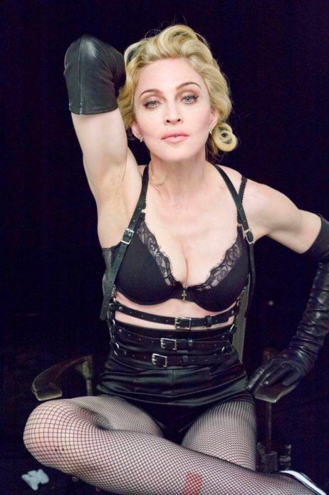 Мадонна в черном