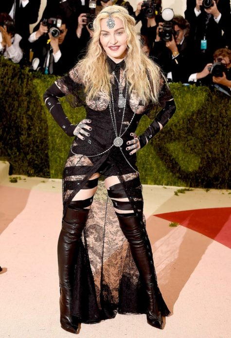 Мадонна в коже