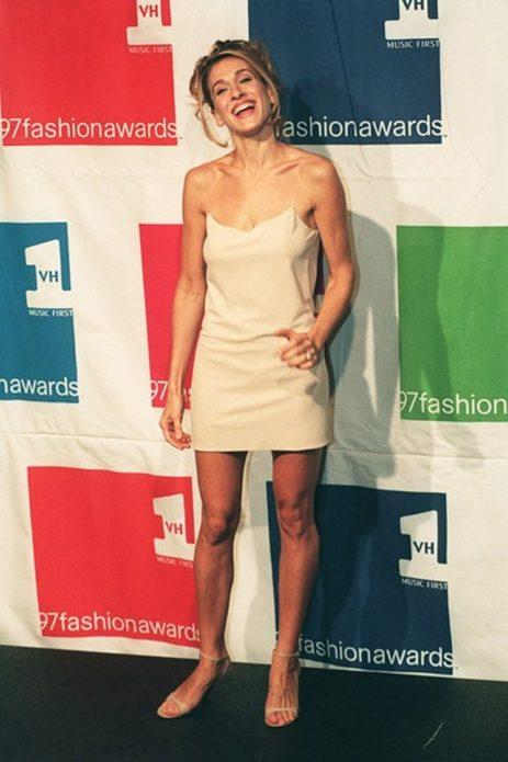 Сара Джессика Паркер в легком платье