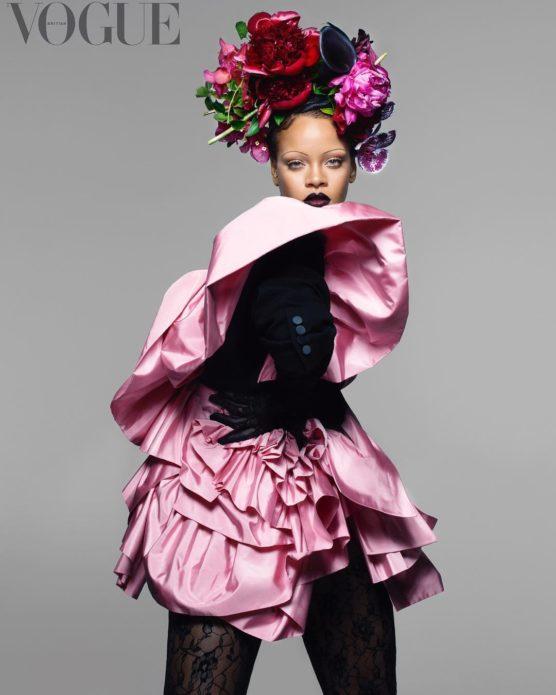 Рианна для журнала Vogue