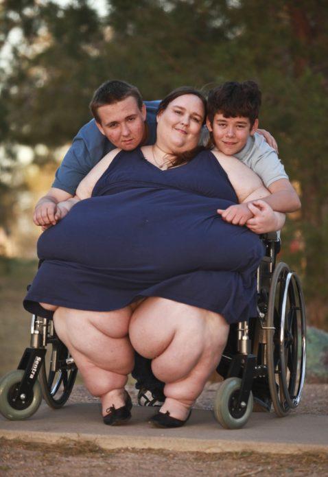 Сюзанна Эман с сыновьями