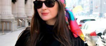 Как красиво повязать платок на голову