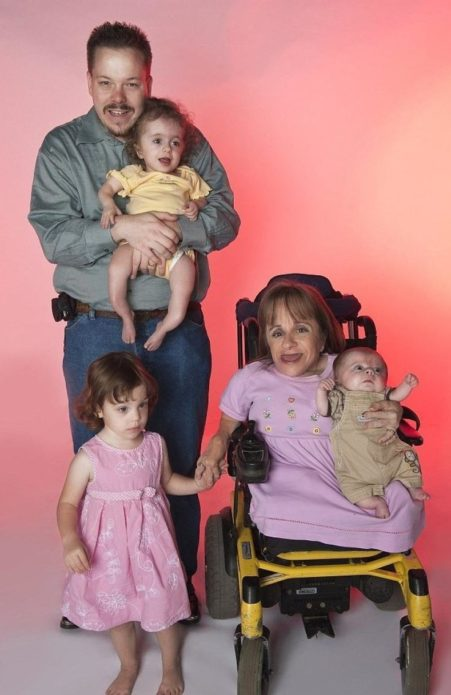 Стэйси Хэральд с семьёй