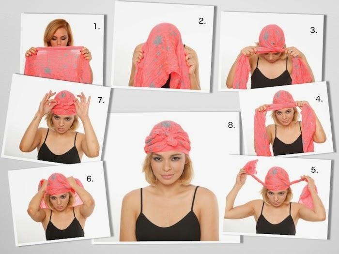что-то как завязать косынку на голове фото пошаговое случае если суд