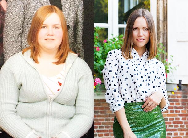 Татьяна Рыбакова до и после похудения