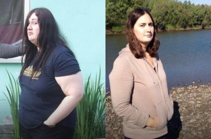 Женя Матери до и после похудения
