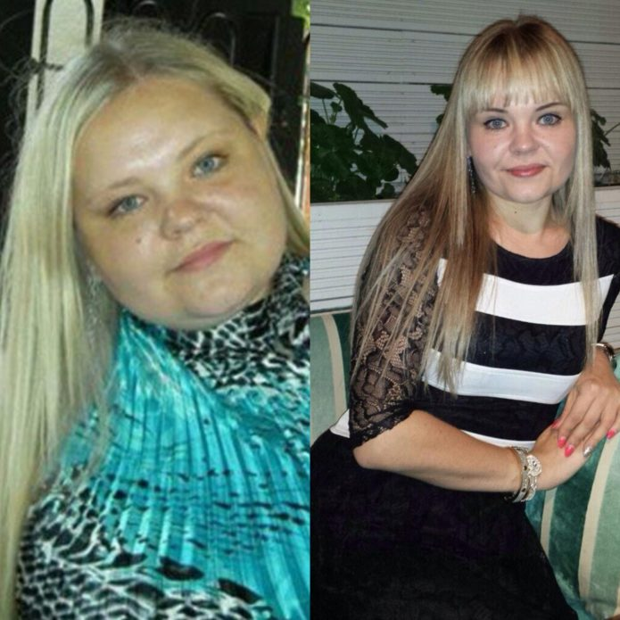 Рита Челик до и после похудения