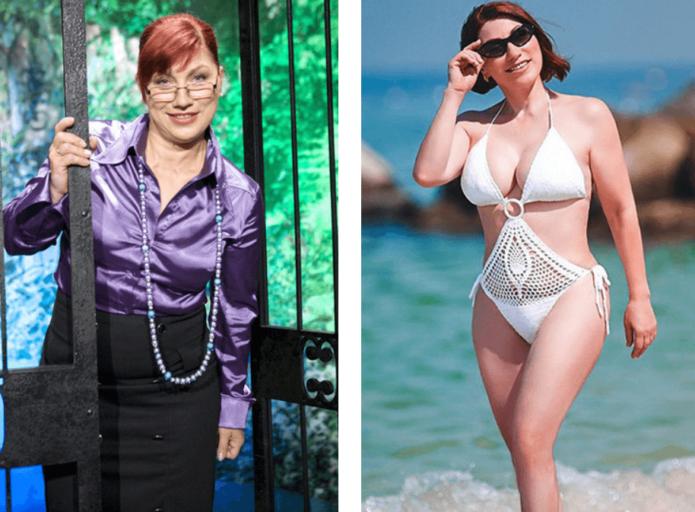 Роза Сябитова до и после пластики груди