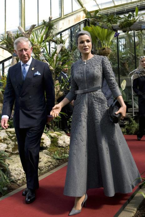 Шейха Моза визит Эрдоганов