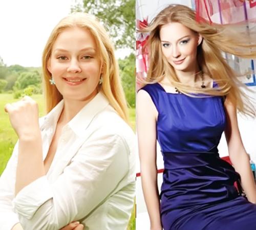 Светлана Ходченкова с лишним весом и после похудения