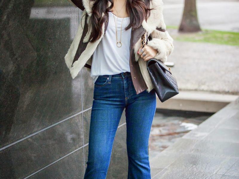 Модные джинсы осень 2018 и зима 2019 – фото женских моделей 29a2ca711d4