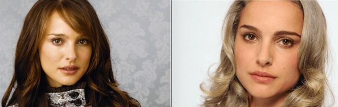 Светлый цвет волос Натали Портман