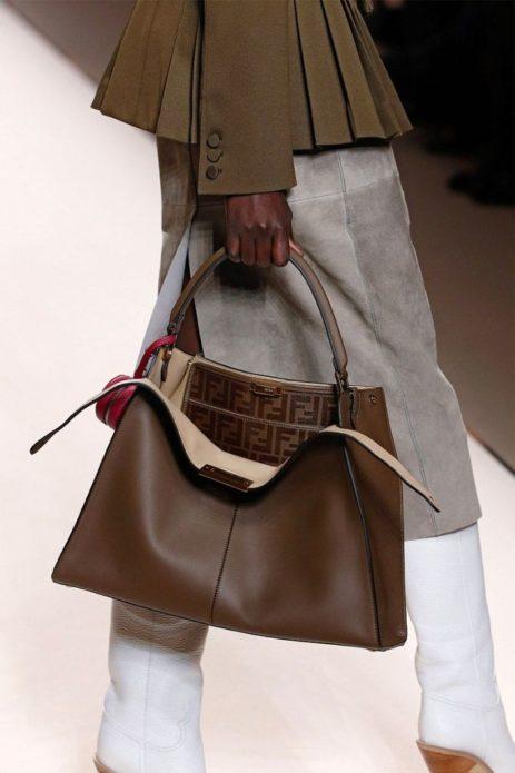 Актуальная сумка в классическом стиле