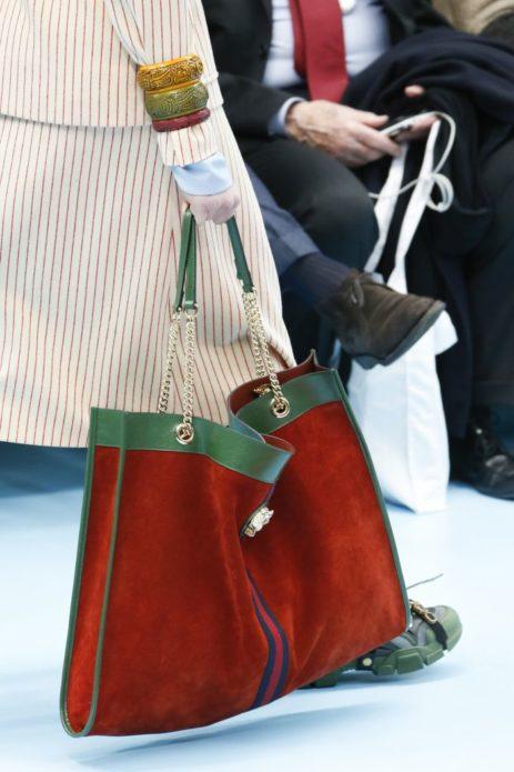 Актуальная замшевая сумка