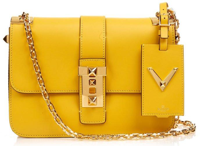 Актуальная жёлтая сумка
