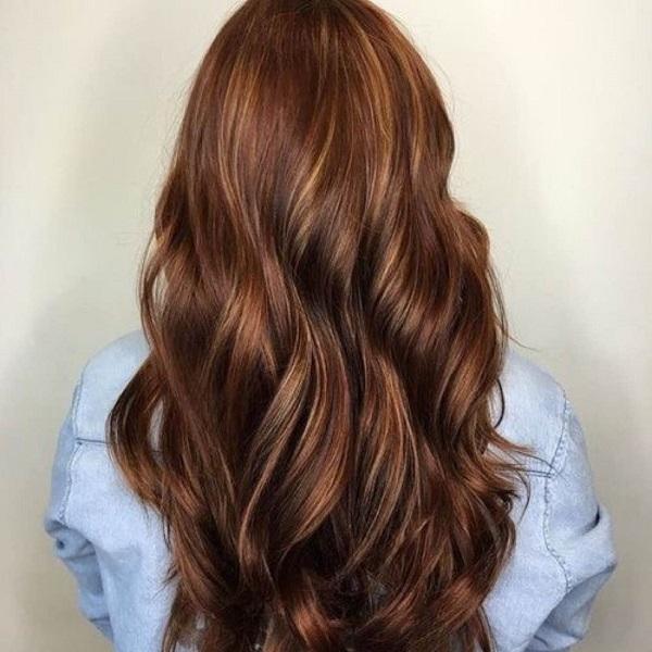 Цвет волос шоколадный мокко