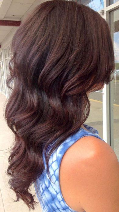 Цвет волос холодный мокко