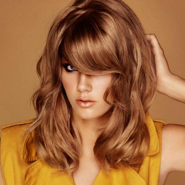 Цвет волос золотистый мокко