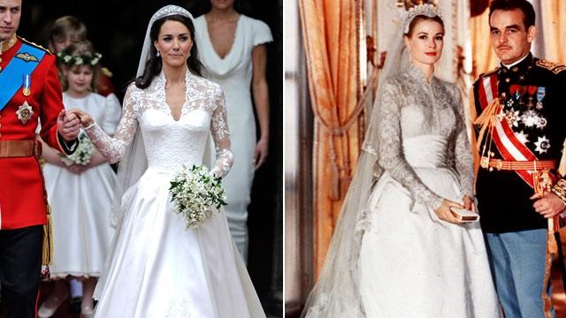 Свадьба Кейт Миддлтон и свадьба Грейс Келли