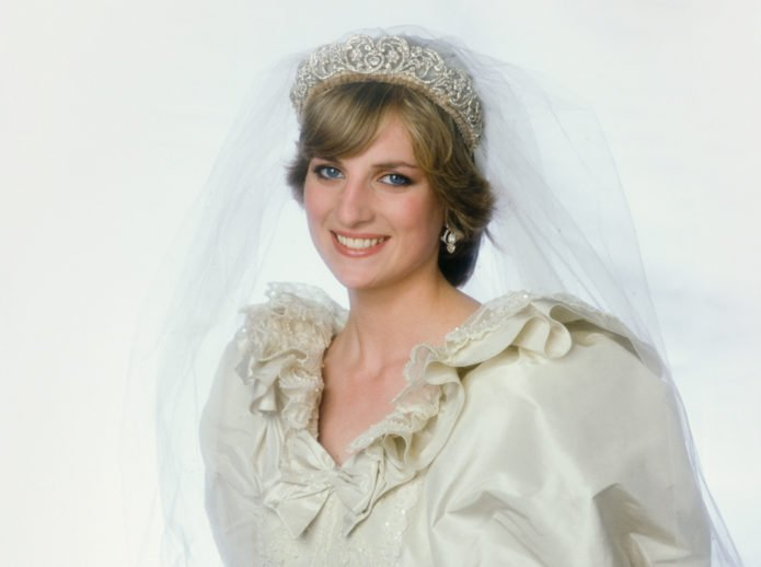 Свадебный наряд принцессы Дианы