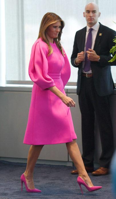 Худшие наряды Мелании Трамп