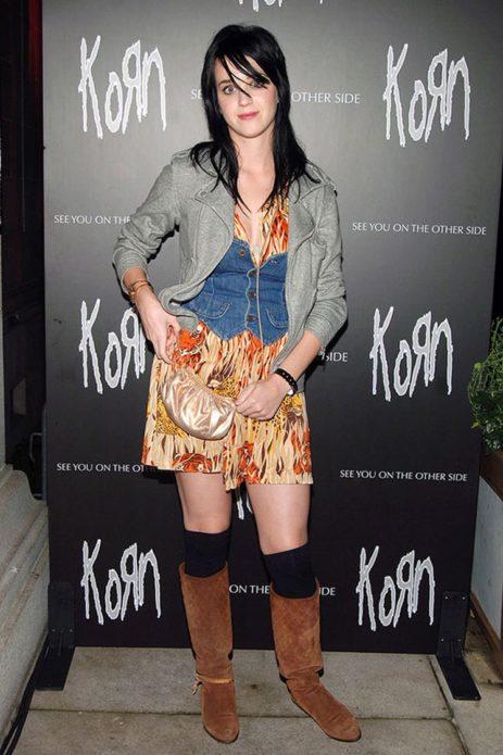 Кэти Пэрри на презентации Korn