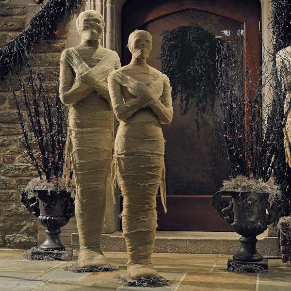 Мумии на Хэллоуин