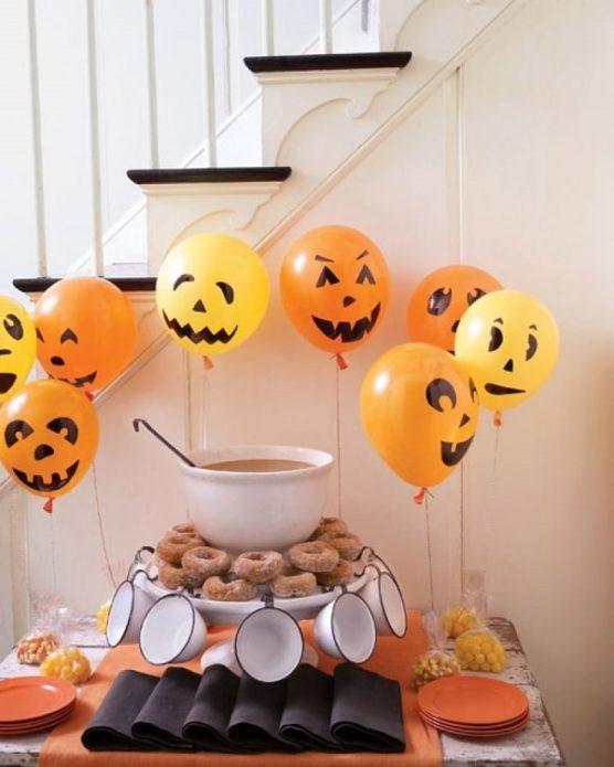 Воздушные шары к Хеллоуину