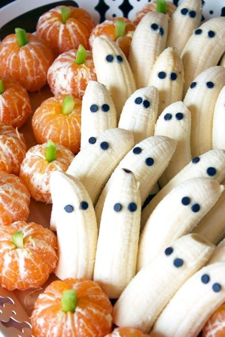 Фрукты к Хеллоуину