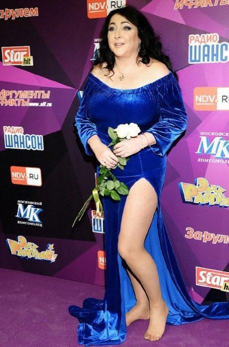 Лолита в синем платье