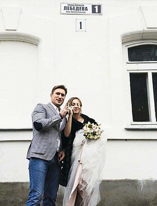 свадьба Дениса Лебедева