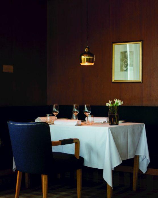 Ресторан «Савой», подвесные светильники