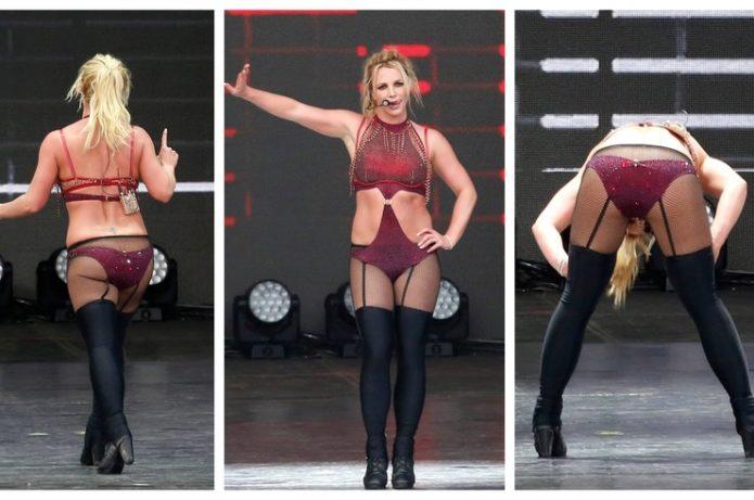 Бритни Спирс шокировала выбором концертных костюмов