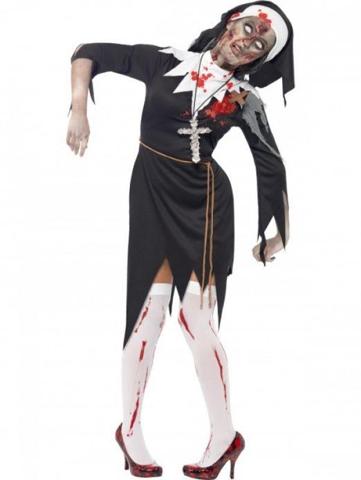 Костюм монахини на Хэллоуин