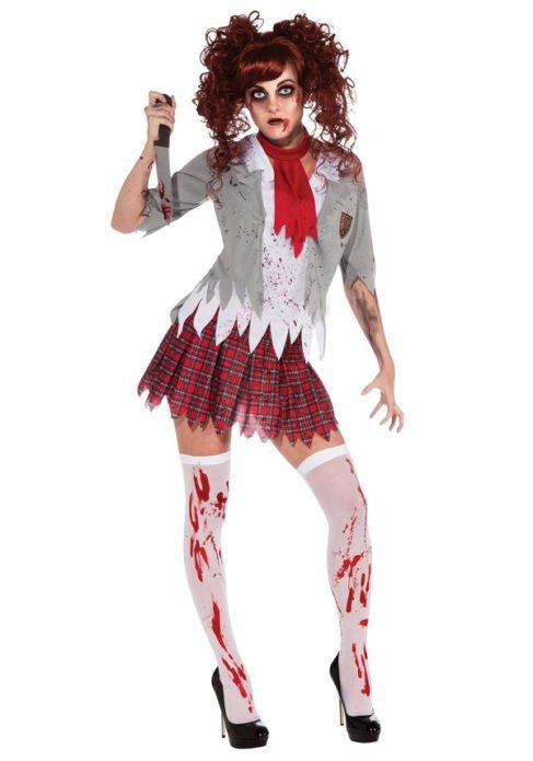 Костюм школьницы на Хэллоуин